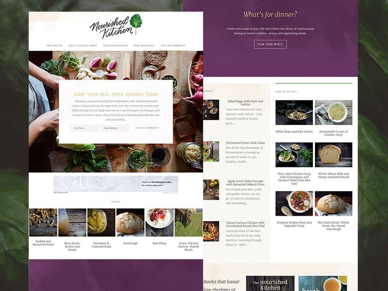 Nourished Kitchen Food Blog