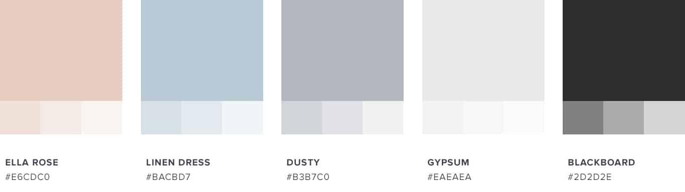 Cait's Plate Color Scheme