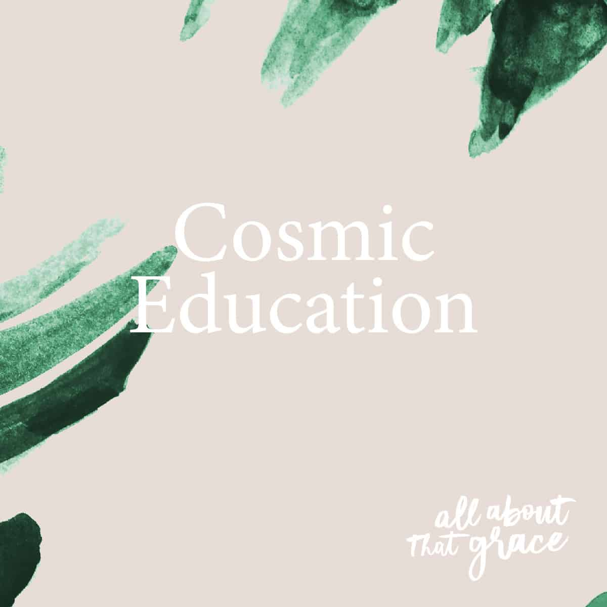 All About that Grace Cosmic Exploration