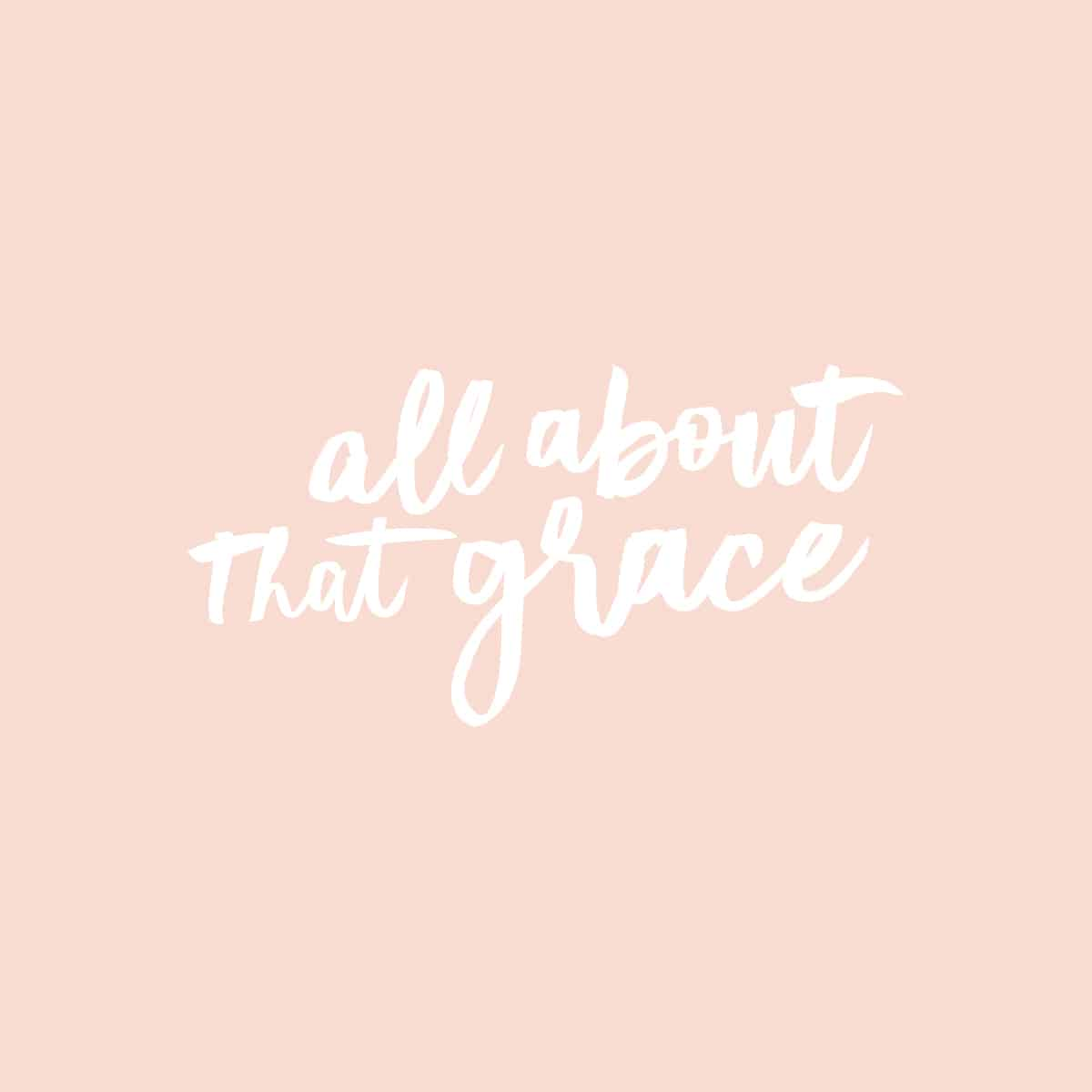 all about that grace logo