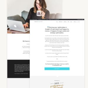 Landing Page Design + Setup