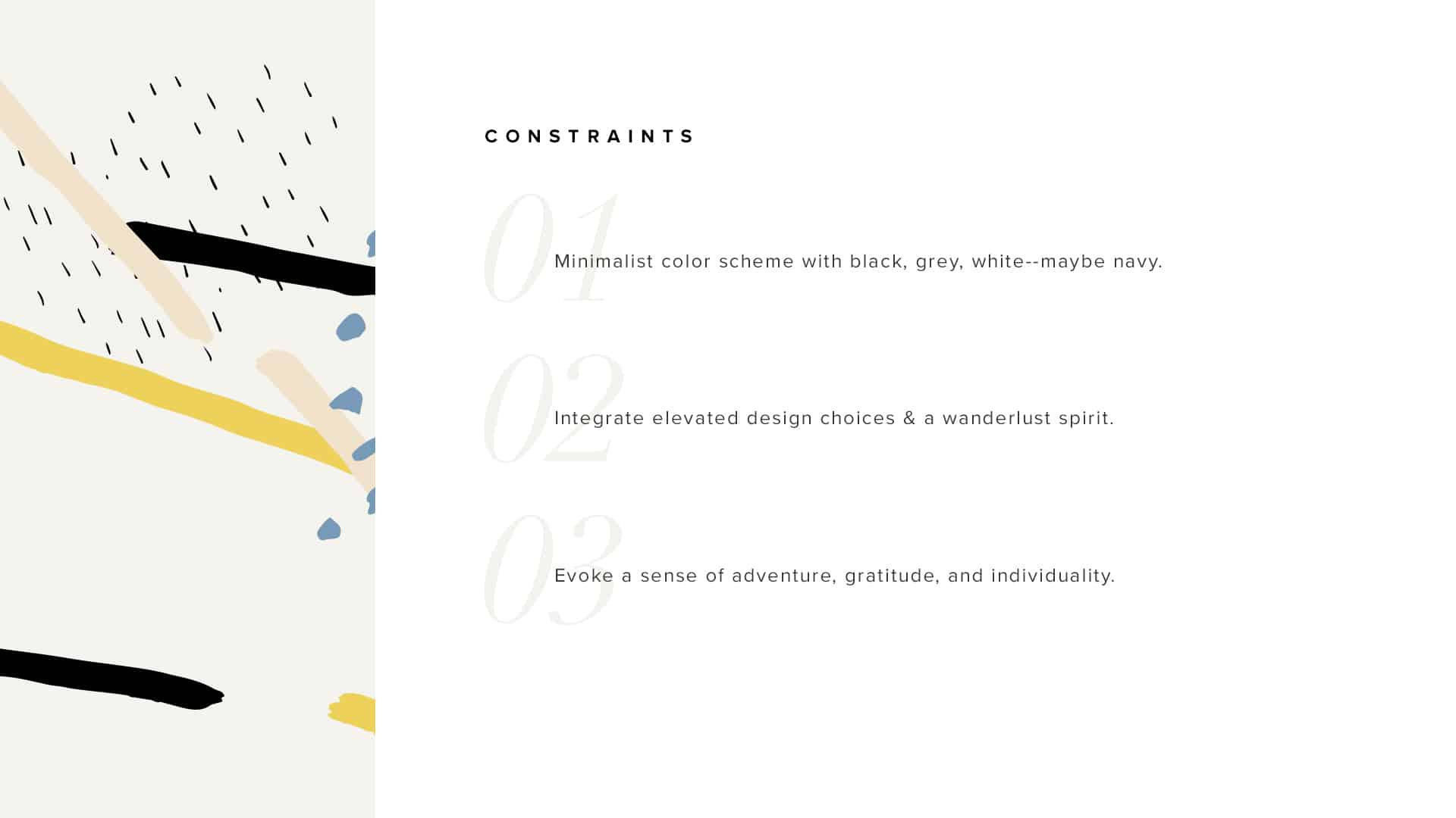 Tight Knit Branding Constraints