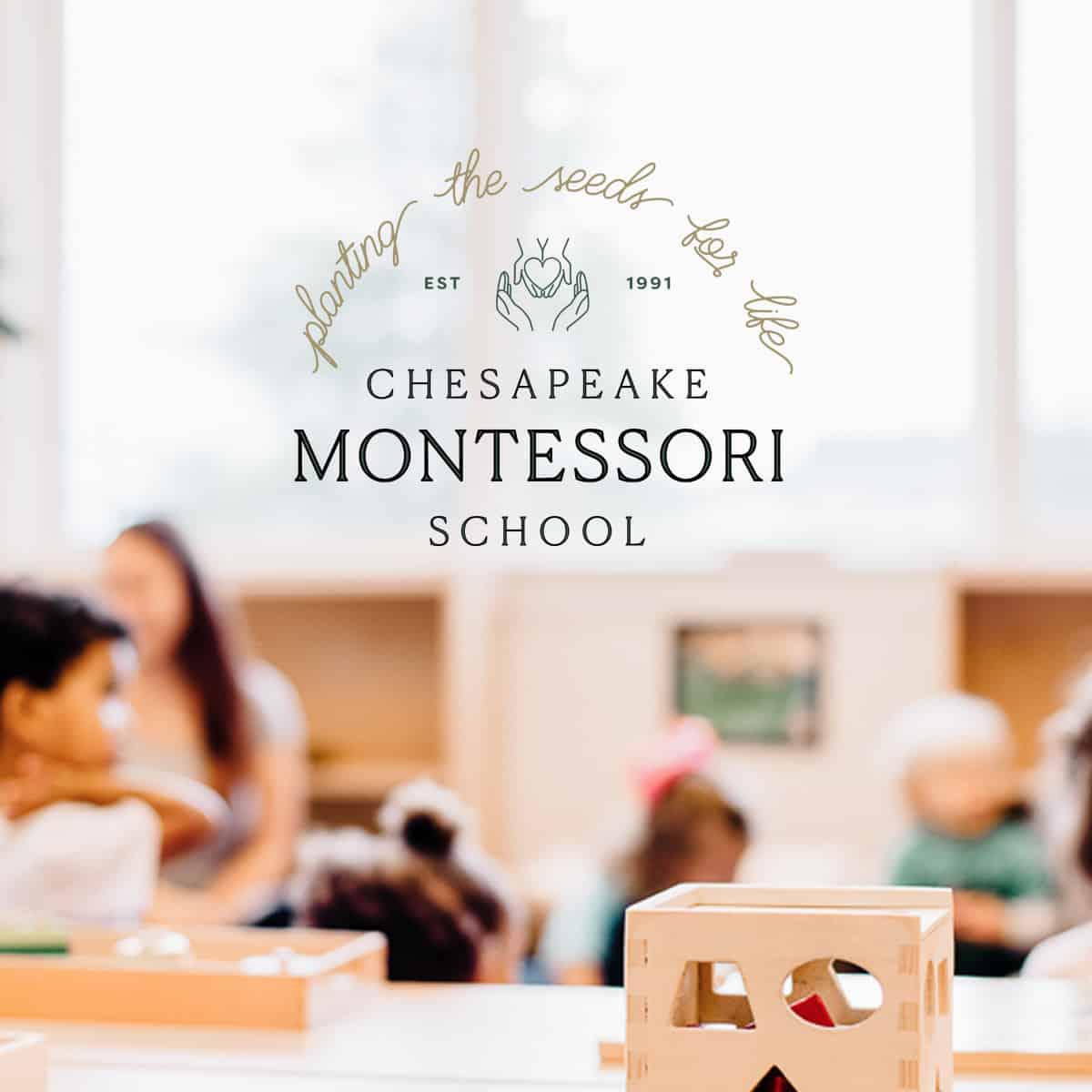 Art Direction for Chesapeake Montessori School